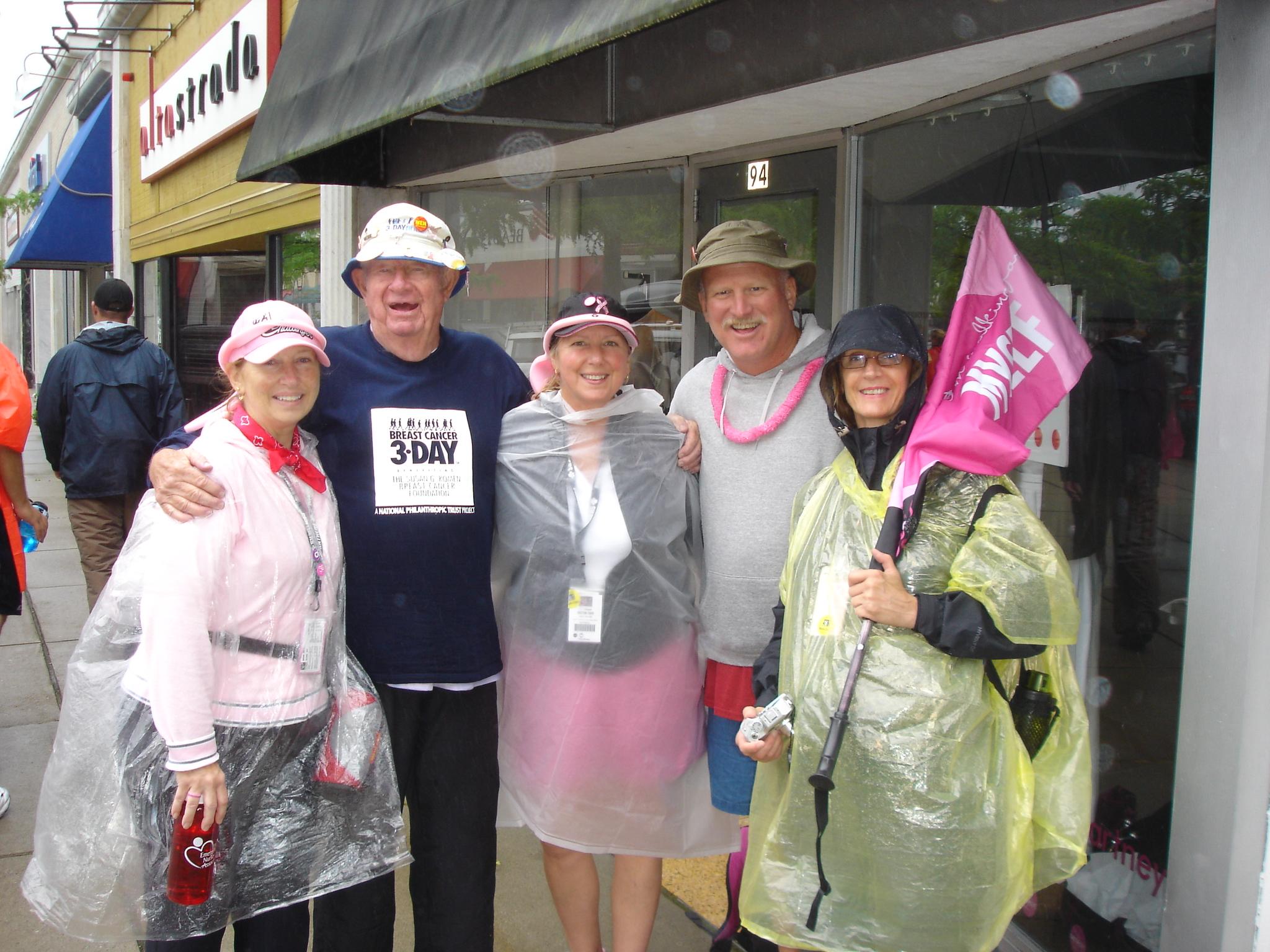 Breast cancer walk three day